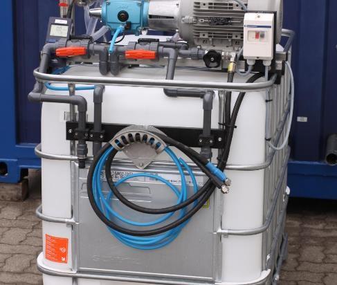 Prototyp der Hochdruck-Umkehr-Osmose-Anlage