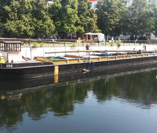 Versuchsfilteranlage des Flussbads Berlin